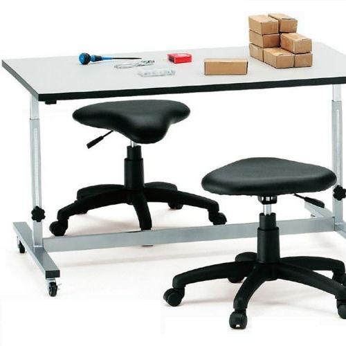 作業台 高さ調節機能付き作業用テーブル FWT-0960 W900×D600×H700~1000(mm)商品画像3
