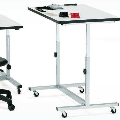 作業台 高さ調節機能付き作業用テーブル FWT-0960 W900×D600×H700~1000(mm)商品画像4