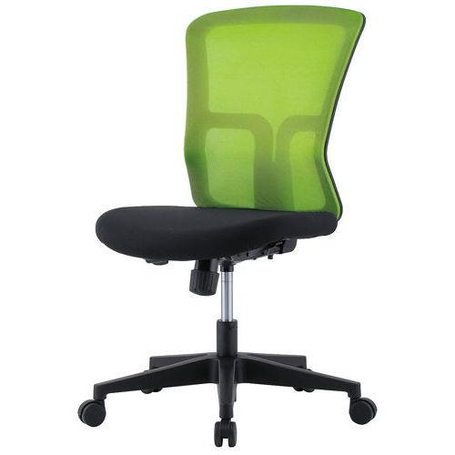 チェア(椅子) 井上金庫(イノウエ) メッシュチェア GSM-10 肘なし商品画像1