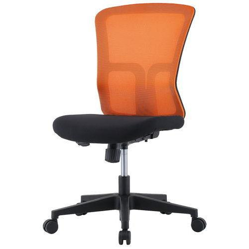 チェア(椅子) 井上金庫(イノウエ) メッシュチェア GSM-10 肘なし商品画像3