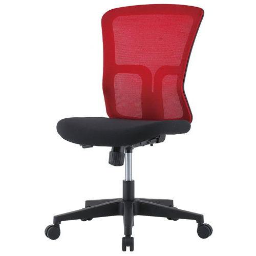 チェア(椅子) 井上金庫(イノウエ) メッシュチェア GSM-10 肘なし商品画像4