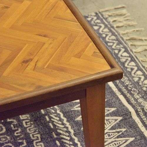 ダイニングテーブル ノックシリーズ GT-873 ヘリンボーン 天然木(アカシア) W1500×D850×H720(mm)商品画像10
