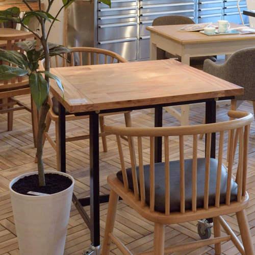 ワーカーテーブル AZUMAYA(東谷) GUY-671 W800×D800×H720(mm) 正方形天板商品画像2