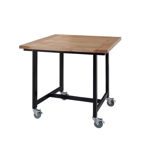 ワーカーテーブル AZUMAYA(東谷) GUY-671 W800×D800×H720(mm) 正方形天板のメイン画像