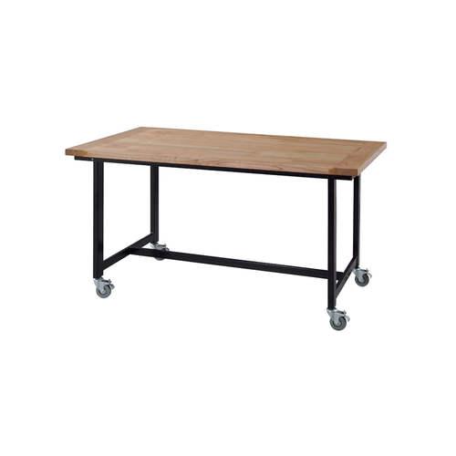 ダイニングテーブル ワーカーテーブル AZUMAYA(東谷) GUY-672 W1350×D800×H720(mm)商品画像2