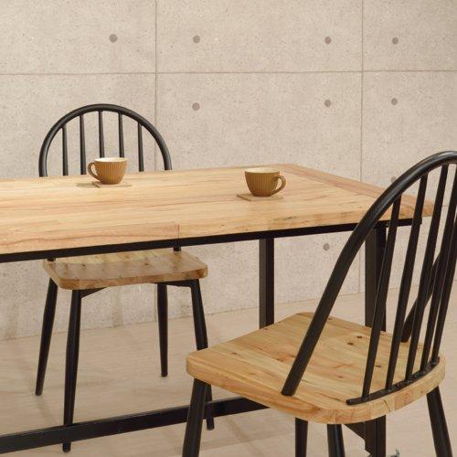 ダイニングテーブル ワーカーテーブル AZUMAYA(東谷) GUY-672 W1350×D800×H720(mm)商品画像6