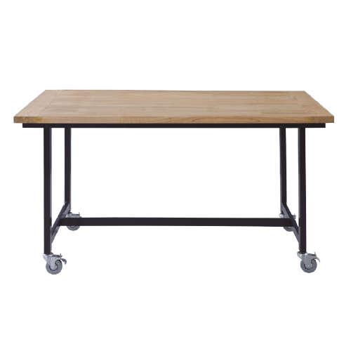 ダイニングテーブル ワーカーテーブル AZUMAYA(東谷) GUY-672 W1350×D800×H720(mm)のメイン画像