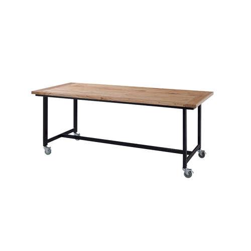 ダイニングテーブル ワーカーテーブル AZUMAYA(東谷) GUY-674 W1800×D800×H720(mm)商品画像2