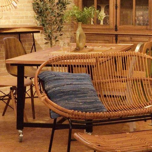 ダイニングテーブル ワーカーテーブル AZUMAYA(東谷) GUY-674 W1800×D800×H720(mm)商品画像5