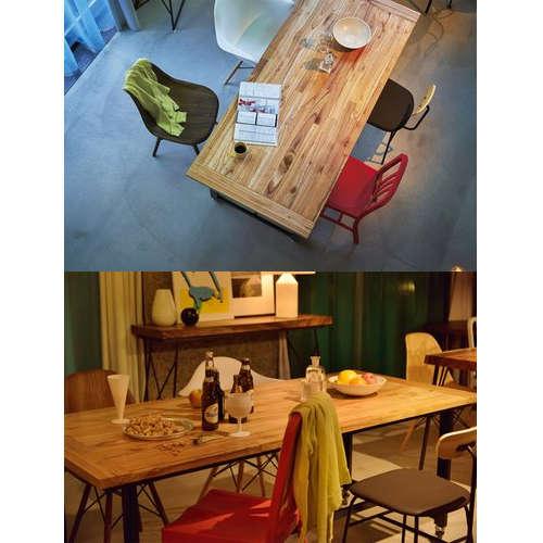 ダイニングテーブル ワーカーテーブル AZUMAYA(東谷) GUY-674 W1800×D800×H720(mm)商品画像9
