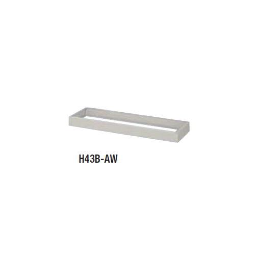 スチール書庫 ベース(基礎) 4×3型 H43B-AW W1200×D374×H90(mm)のメイン画像