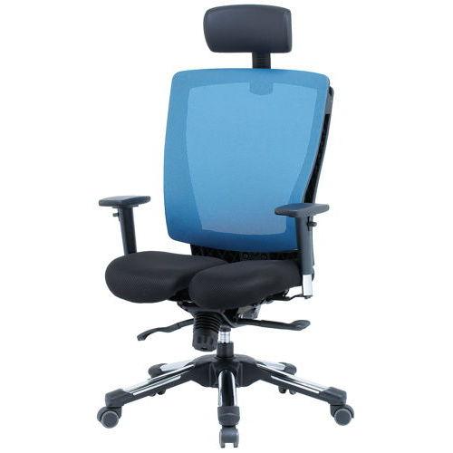 【廃番】チェア(椅子) 井上金庫(イノウエ) プレジデントメッシュチェア HHC-19A 上下可動肘付き商品画像2
