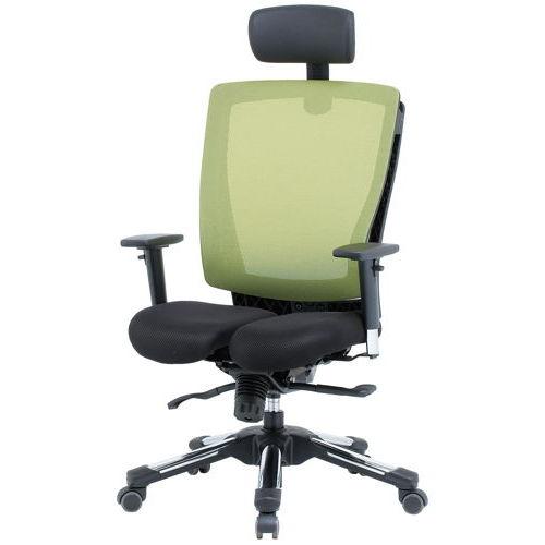 【廃番】チェア(椅子) 井上金庫(イノウエ) プレジデントメッシュチェア HHC-19A 上下可動肘付き商品画像3