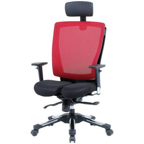 チェア(椅子) 井上金庫(イノウエ) プレジデントメッシュチェア HHC-19A 上下可動肘付き商品画像4