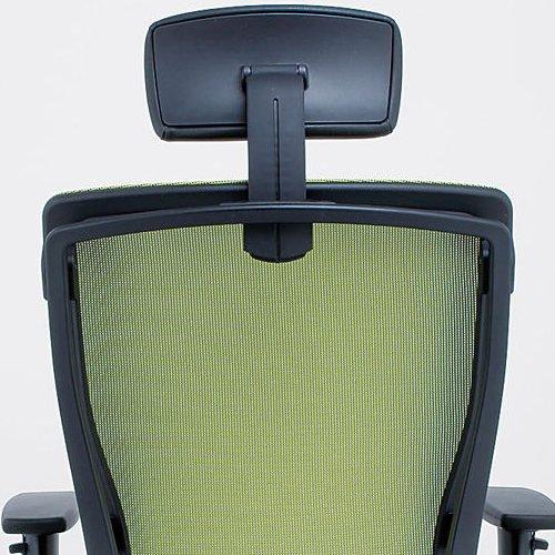 【廃番】チェア(椅子) 井上金庫(イノウエ) プレジデントメッシュチェア HHC-19A 上下可動肘付き商品画像5