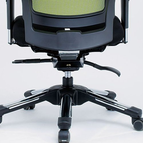 【廃番】チェア(椅子) 井上金庫(イノウエ) プレジデントメッシュチェア HHC-19A 上下可動肘付き商品画像6