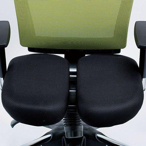 チェア(椅子) 井上金庫(イノウエ) プレジデントメッシュチェア HHC-19A 上下可動肘付き商品画像7