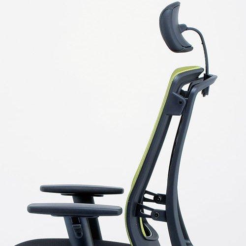 【廃番】チェア(椅子) 井上金庫(イノウエ) プレジデントメッシュチェア HHC-19A 上下可動肘付き商品画像8