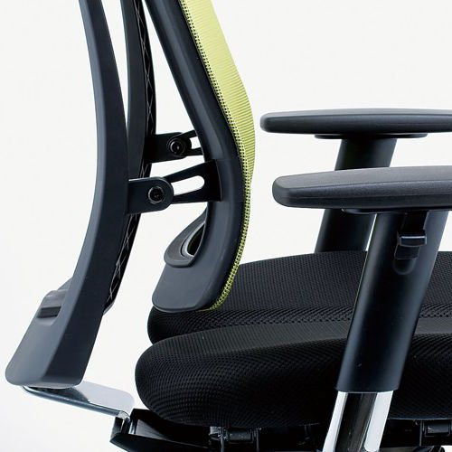 チェア(椅子) 井上金庫(イノウエ) プレジデントメッシュチェア HHC-19A 上下可動肘付き商品画像9