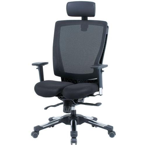 チェア(椅子) 井上金庫(イノウエ) プレジデントメッシュチェア HHC-19A 上下可動肘付きのメイン画像