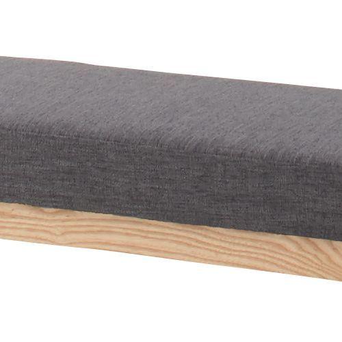 ベンチチェア エコモベンチ 北欧テイスト グレーカラー ファブリック張地 AZ-HOC-150GY商品画像5