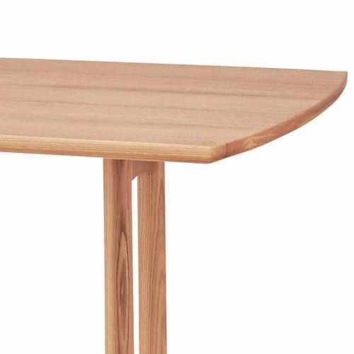 ダイニングテーブル エコモシリーズ AZUMAYA(東谷) HOT-153NA 天然木(アッシュ) W1200×D750×H680(mm)商品画像6