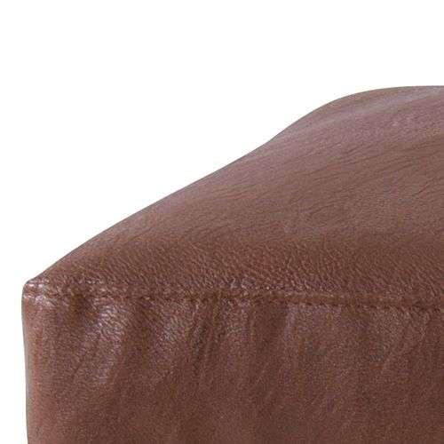 ソファ AZUMAYA(東谷) ボイド オットマン HS-953 ブラウンカラー ソフトレザー ポケットコイル商品画像2