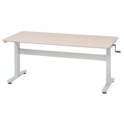 会議用テーブル 井上金庫(イノウエ) 上下昇降式テーブル HUD-1680 W1600×D800×H680~1030(mm)商品画像2