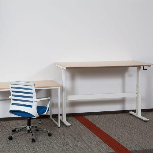 会議用テーブル 井上金庫(イノウエ) 上下昇降式テーブル HUD-1680 W1600×D800×H680~1030(mm)商品画像5