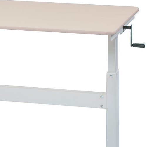会議用テーブル 井上金庫(イノウエ) 上下昇降式テーブル HUD-1680 W1600×D800×H680~1030(mm)商品画像9