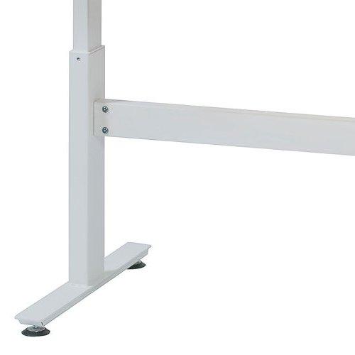 会議用テーブル 井上金庫(イノウエ) 上下昇降式テーブル HUD-1680 W1600×D800×H680~1030(mm)商品画像10