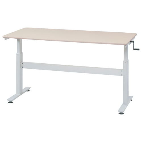 会議用テーブル 井上金庫(イノウエ) 上下昇降式テーブル HUD-1680 W1600×D800×H680~1030(mm)のメイン画像