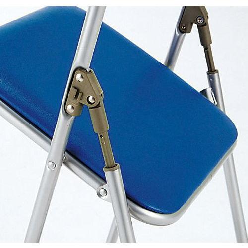スライド式折りたたみ椅子 井上金庫(イノウエ) IB-09N 1脚セット商品画像4
