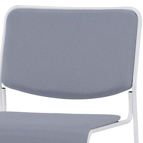 会議椅子 スタッキングチェア IMP-430 ループ脚 布張り 肘なし商品画像6