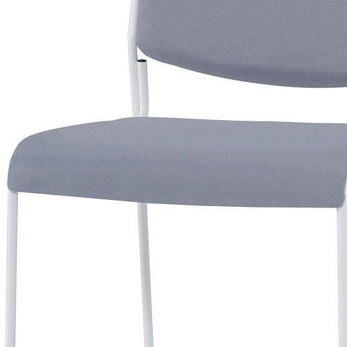 会議椅子 スタッキングチェア IMP-430 ループ脚 布張り 肘なし商品画像7