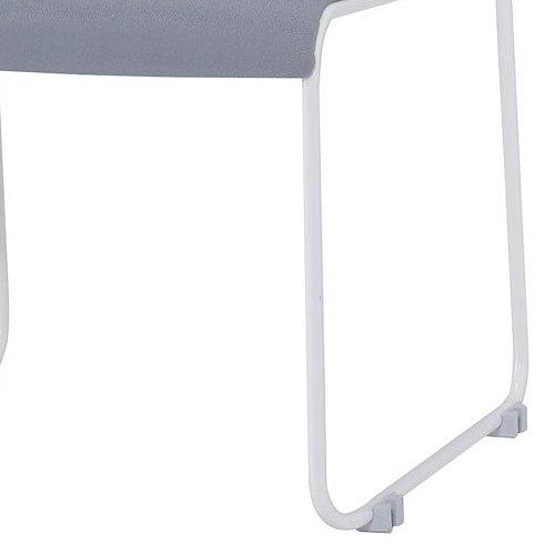 スタッキングチェア 井上金庫(イノウエ) IMP-430 ループ脚 布張り 肘なし商品画像8