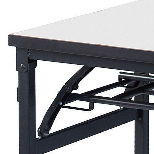 折りたたみテーブル ワイド脚 KBS-1845 W1800×D450×H700(mm)商品画像3