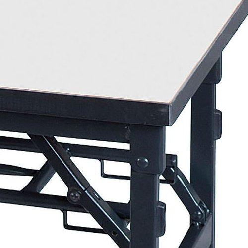 【廃番】折りたたみテーブル 井上金庫(イノウエ) ワイド脚 KBS-1845 W1800×D450×H700(mm)商品画像4