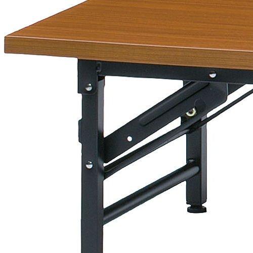 折りたたみテーブル 座卓 共貼り KL-1845N W1800×D450×H330(mm)商品画像3