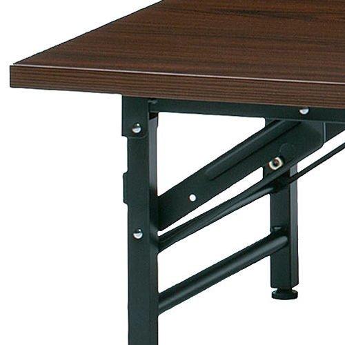 折りたたみテーブル 座卓 共貼り KL-1845N W1800×D450×H330(mm)商品画像4