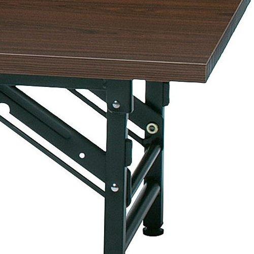 折りたたみテーブル 座卓 共貼り KL-1845N W1800×D450×H330(mm)商品画像6
