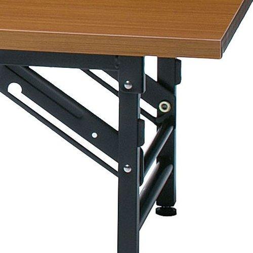 折りたたみテーブル 座卓 共貼り KL-1860N W1800×D600×H330(mm)商品画像6