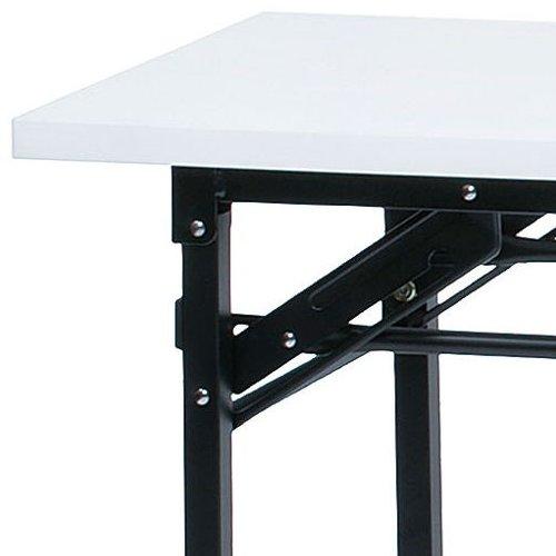 折りたたみテーブル 井上金庫(イノウエ) 共貼り KM-1545T W1500×D450×H700(mm)商品画像3