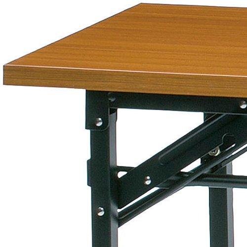 折りたたみテーブル 共貼り KM-1545T W1500×D450×H700(mm)商品画像4