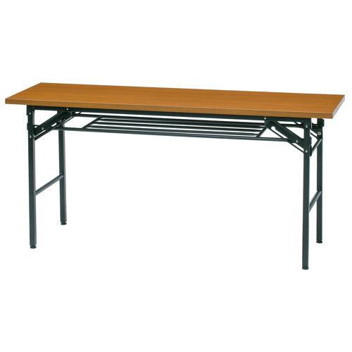 折りたたみテーブル 共貼り KM-1545T W1500×D450×H700(mm)のメイン画像
