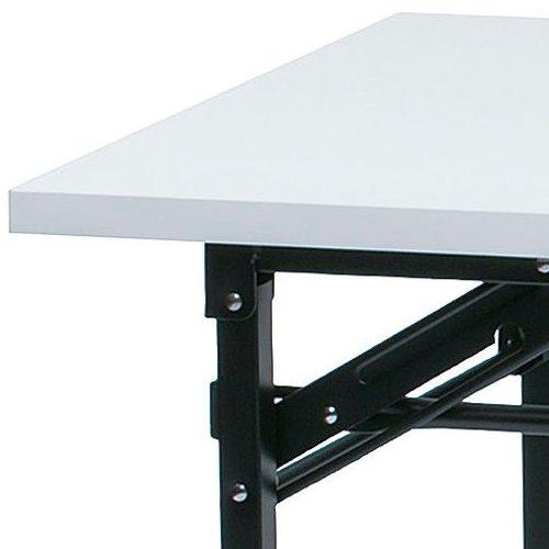 折りたたみテーブル 共貼り KM-1560T W1500×D600×H700(mm)商品画像3
