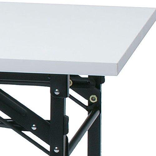 折りたたみテーブル 共貼り KM-1560T W1500×D600×H700(mm)商品画像4