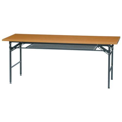 折りたたみテーブル 共貼り KM-1860T W1800×D600×H700(mm)商品画像2