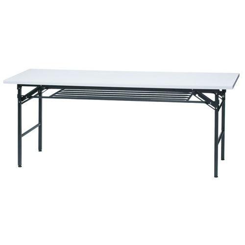 折りたたみテーブル 共貼り KM-1860T W1800×D600×H700(mm)商品画像3