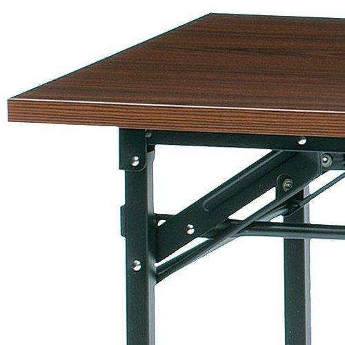 折りたたみテーブル 共貼り KM-1860T W1800×D600×H700(mm)商品画像5